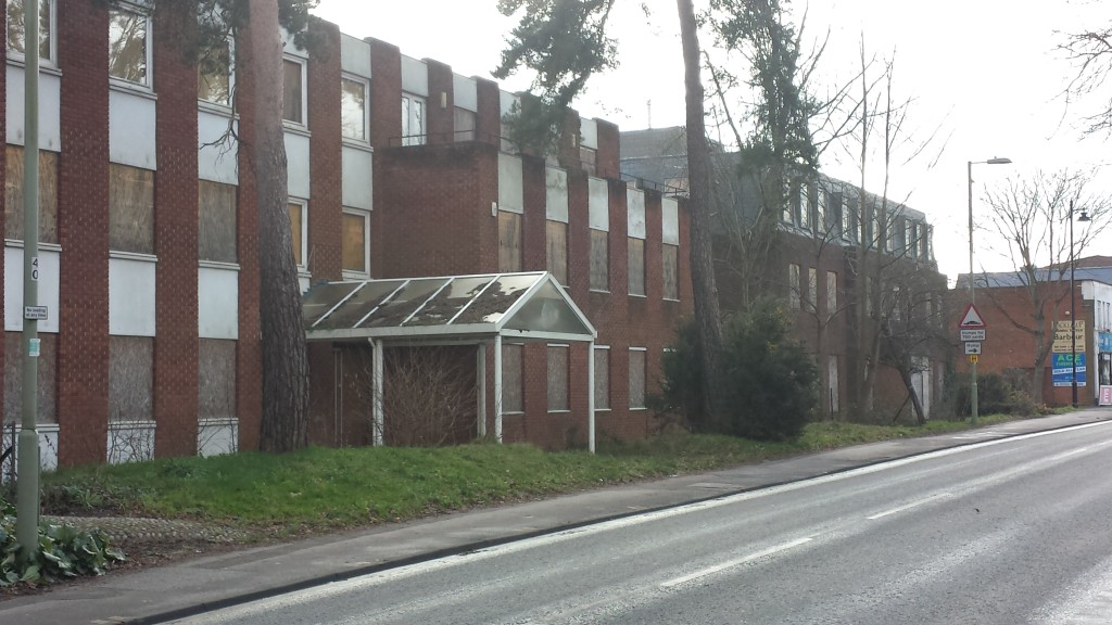 Derelict Offices in Fleet, Hampshire