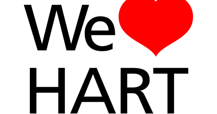 We Love Hart Campaign Logo