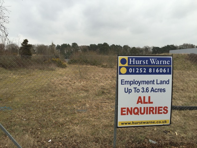 Development site near Tweseldown, near Fleet/ Church Crookham, Hart District, Hampshire