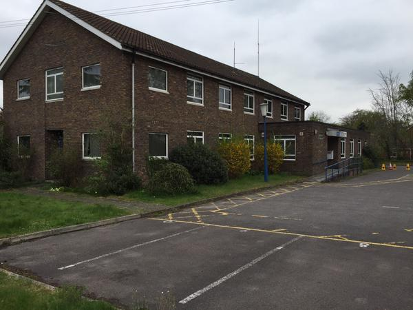 redevelopment of Old Police Station,Crookham Road, Fleet, Hart District, Hampshire being blocked by restrictive brownfield policies