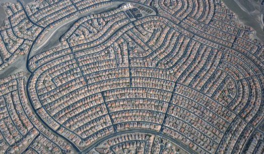 Example of Urban Sprawl