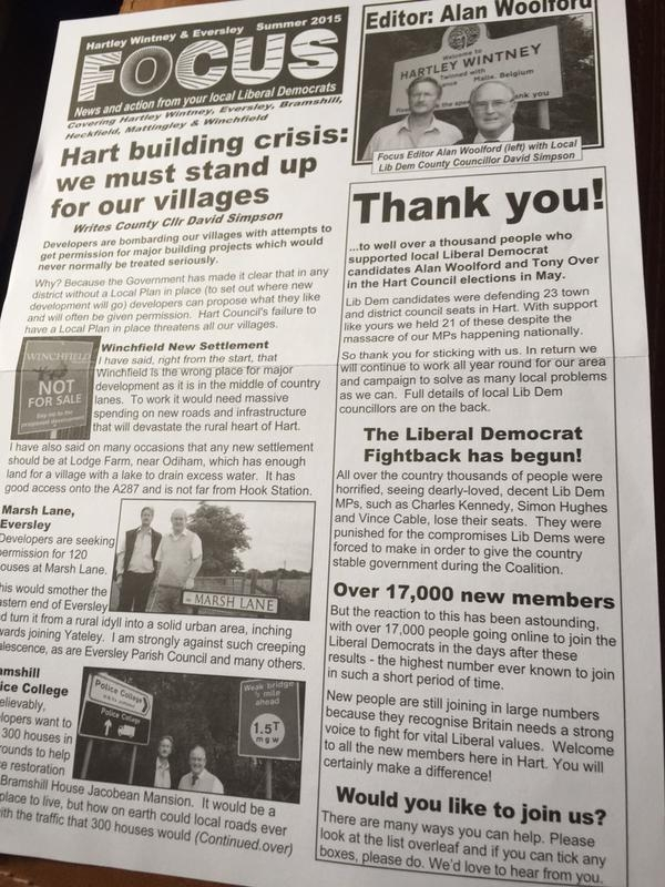 Lib Dem Focus Sept 2015 1 of 2