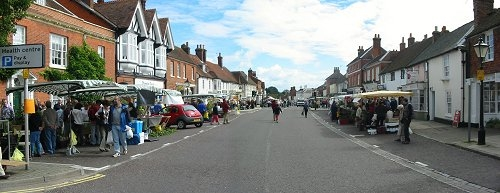 Odiham High Street, Hart District Hampshire