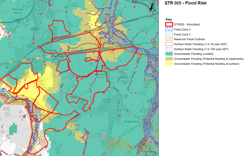 Winchfield Flood Risk