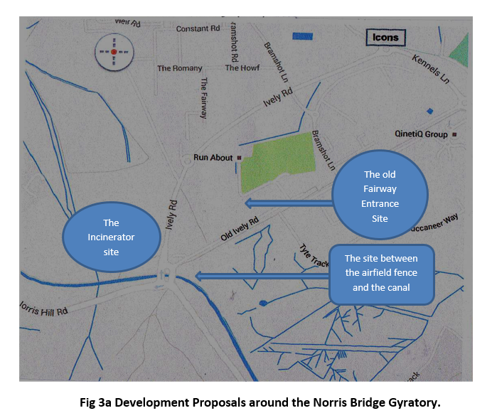 Development proposals Norris Bridge Gyratory