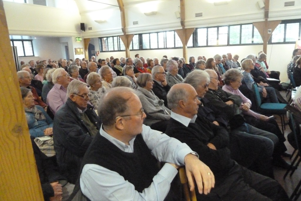 Hartley Wintney residents turn out to oppose WInchfield new town