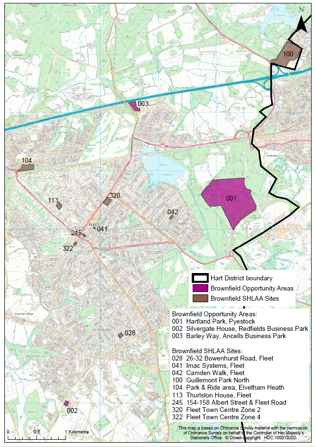 Hart District Council (HDC) starts the process of identifying brownfield opportunities