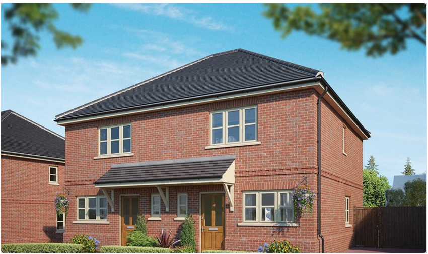 Bewley Homes 3-bed semi detached Hartley Row Park Hartley Wintney Hampshire