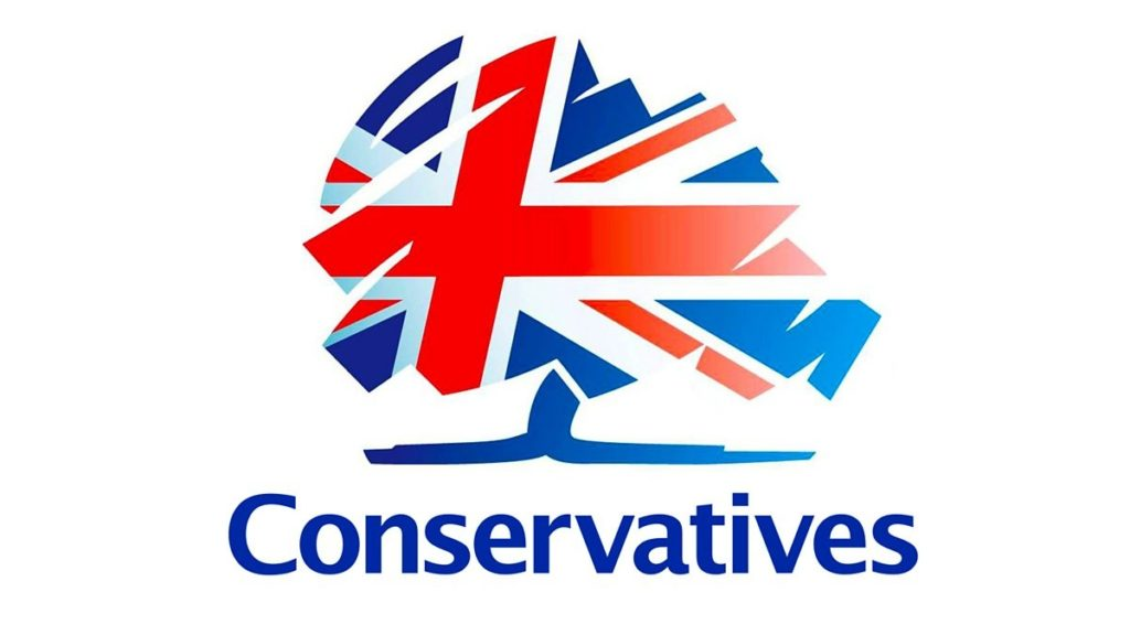 North East Hampshire Conservative Party Logo. We Heart Hart. We Love Hart.