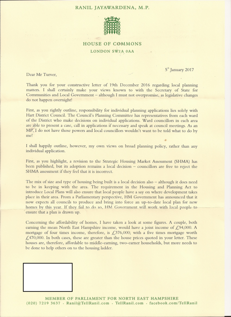 Reply from Ranil Jayawardena Page 1 of 3