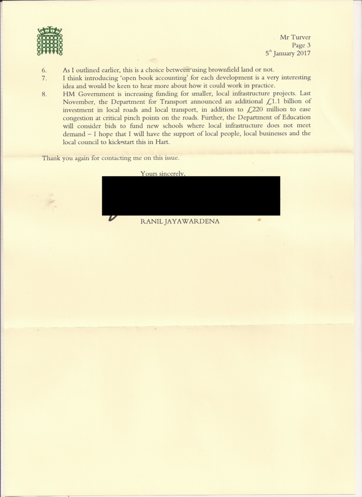 Reply from Ranil Jayawardena Page 3 of 3