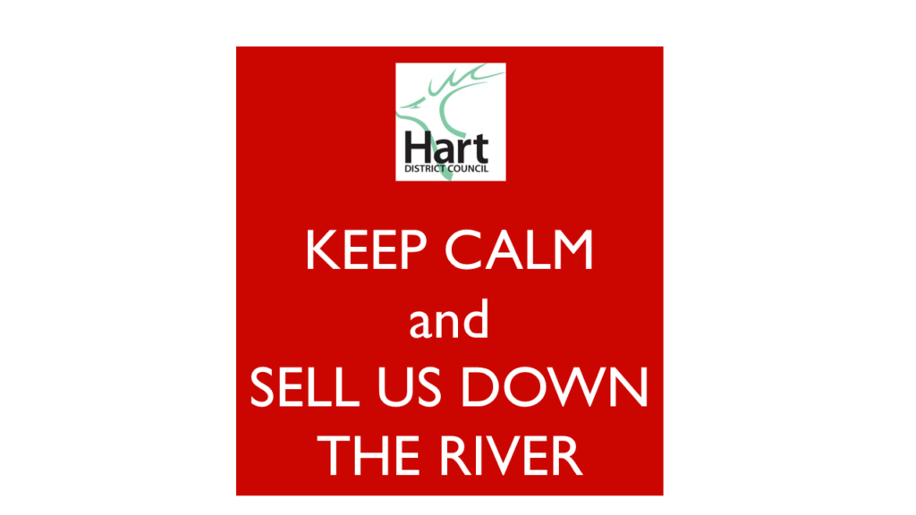 Hart Cabinet sell us down the river by planning for far more houses than we need