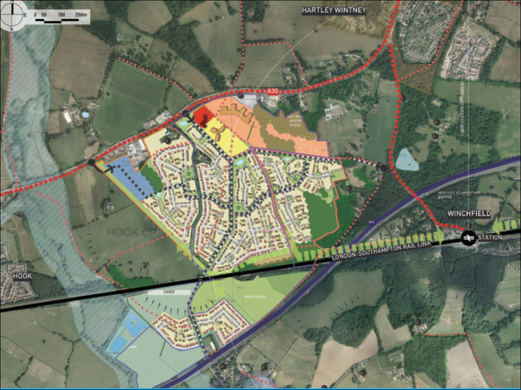 Murrell Green new settlement proposal