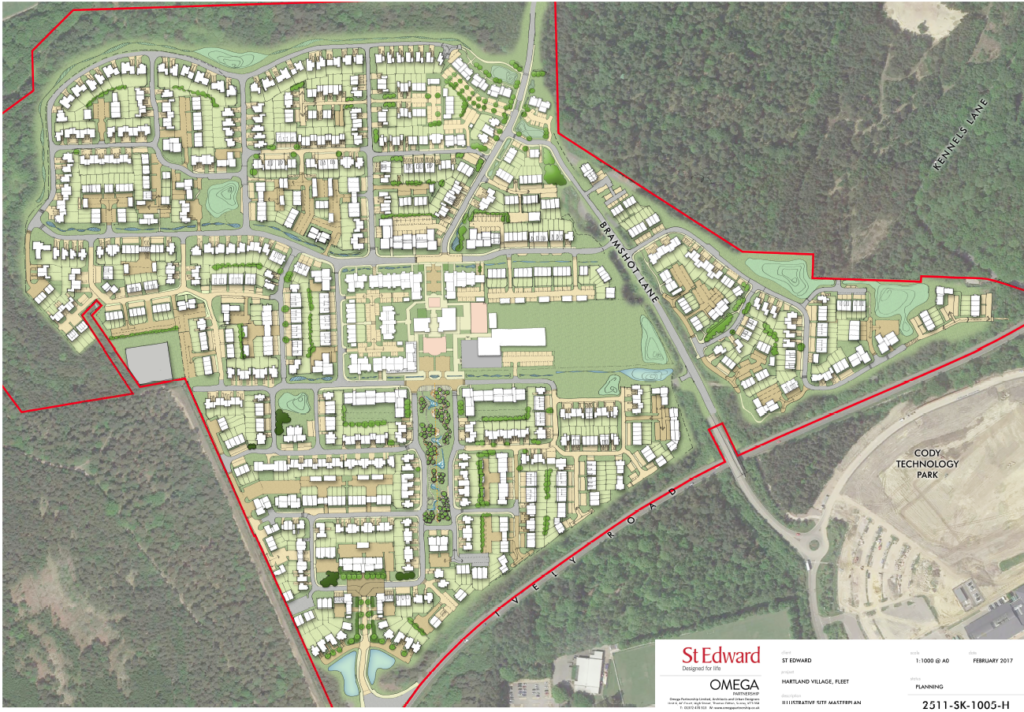 Hart Major Planning Site: Hartland Park (Pyestock) Master Plan