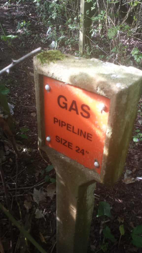 Murrell Green High Pressure Gas Main size 24""