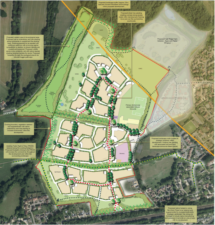 Developers launch Owens Farm Appeal at Hook, Hart District, Hampshire