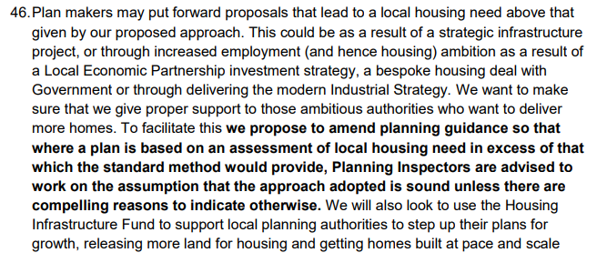 New Government housing methodology - impact on planning inspectors