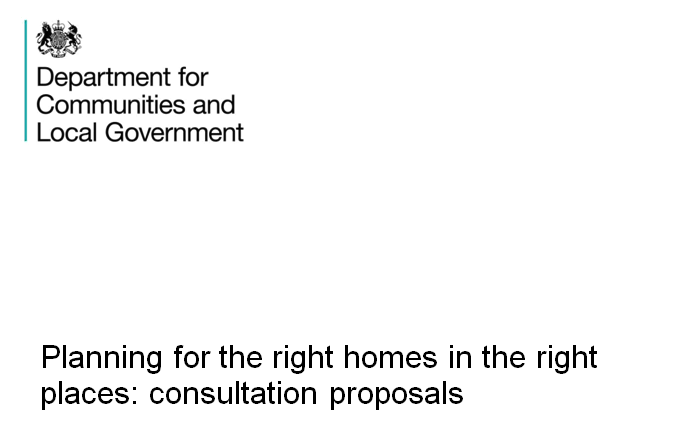 DCLG Consultation - Planning for the right homes in the right places