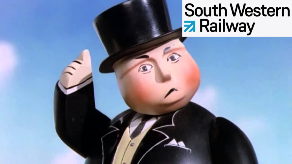 South West Railways (SWR) Fat controller gets it wrong proposing winchfield hook train cuts.