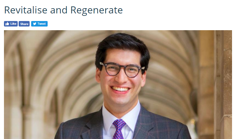 Ranil Jayawardena MP calls for Fleet regeneration and revitalisation of Hook and Yateley