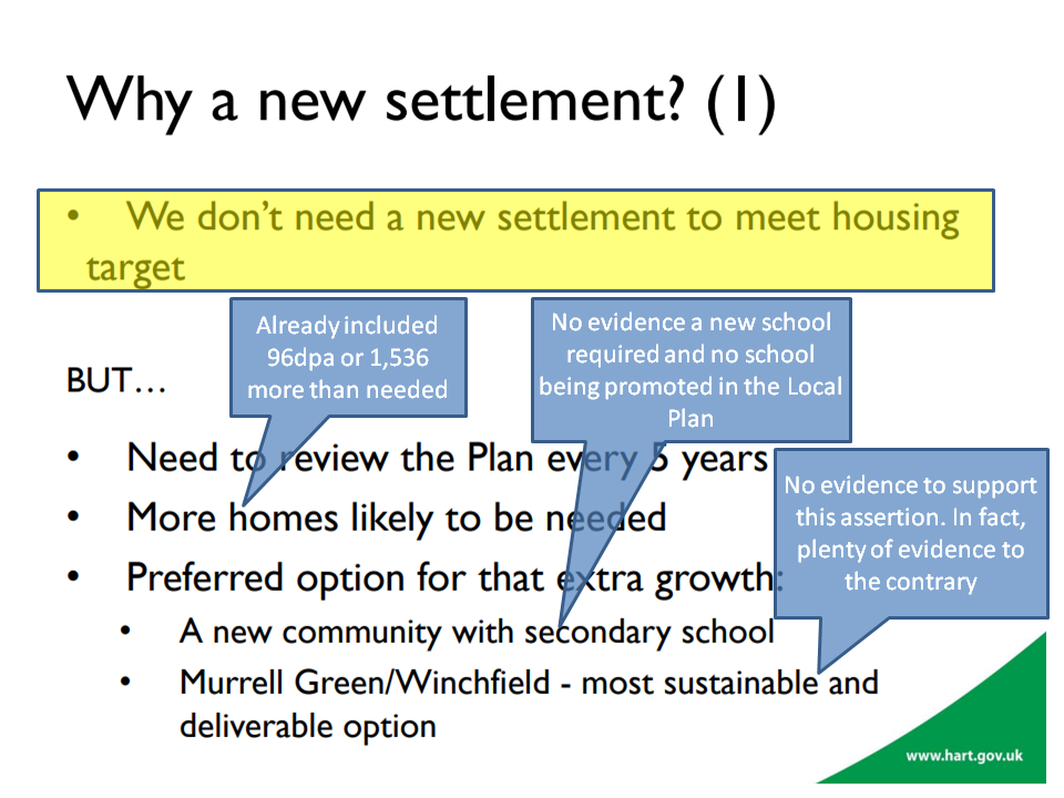 Why a new settlement debunked predetermination