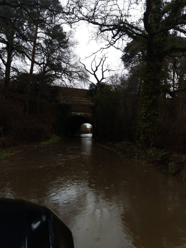 Winchfield Flood Taplins Farm Lane 30 March 2018