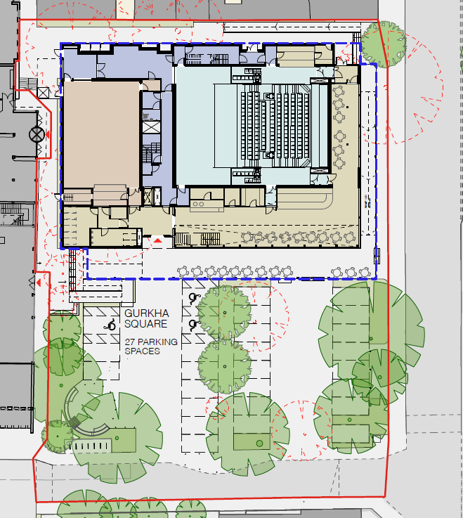 Amended Gurkha Square Plans. We Heart Hart. We Love Hart
