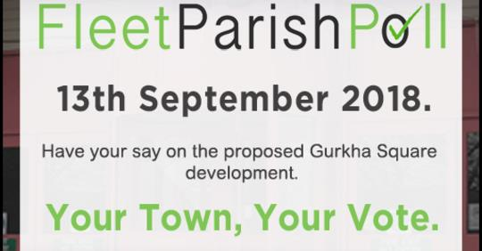 Fleet Parish Poll to Save Gurkha Square