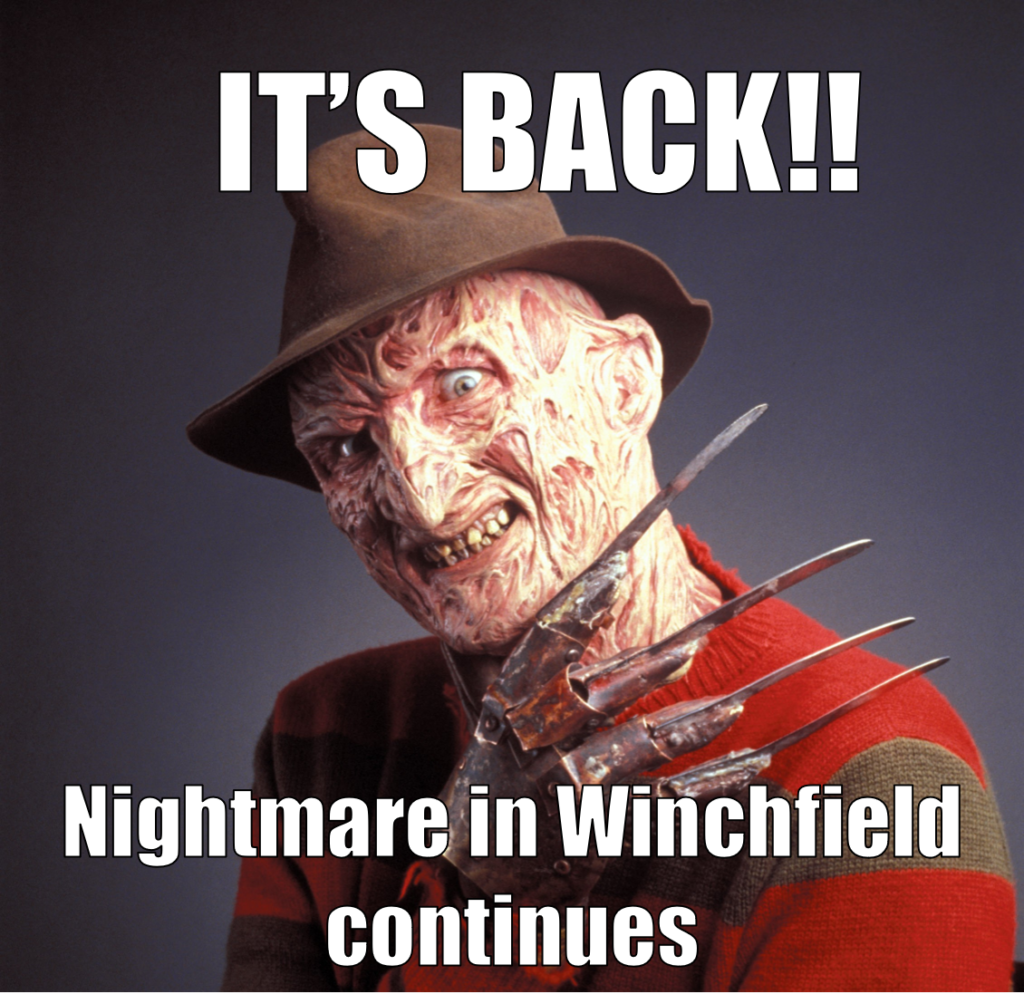 NIghtmare in Winchfield - Government Funding approved for Shapley Heath new town