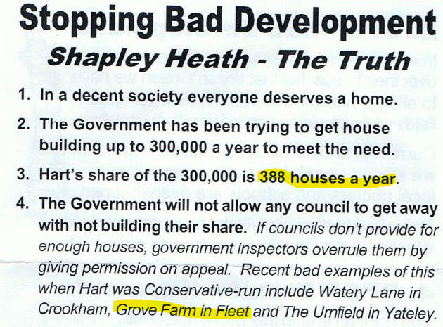 Cockarill Lib Dem Fake News Leaflet North East Hampshire GE 2019