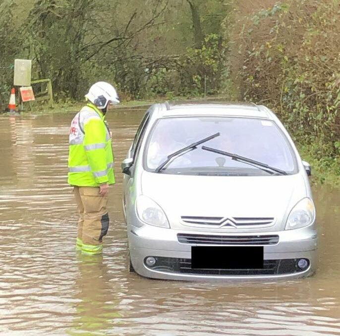 Winchfield Floods Again December 2019
