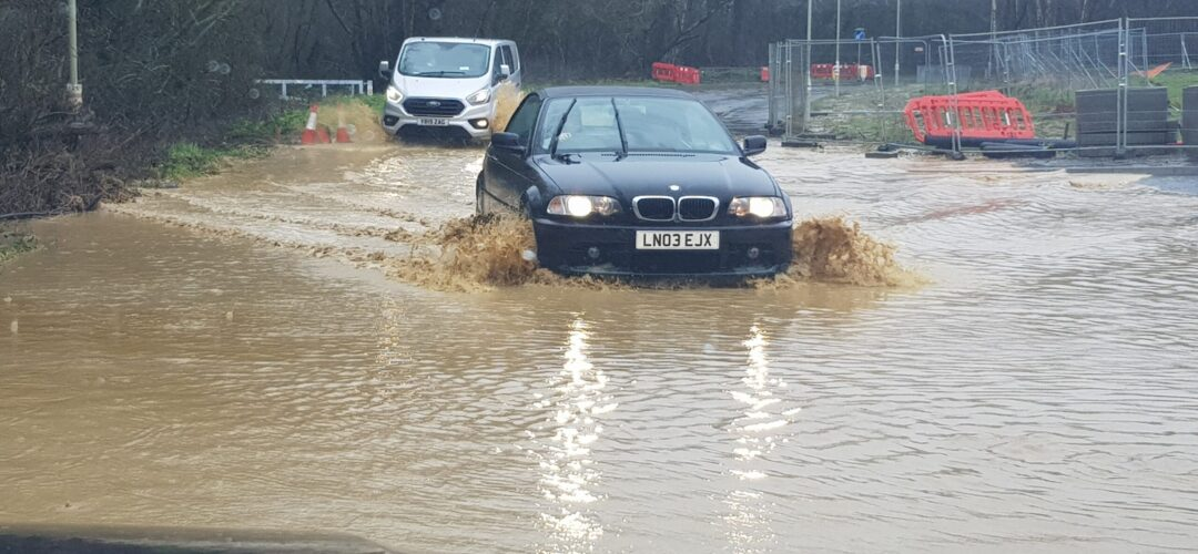 Hitches Lane Flood. #StormDennis.