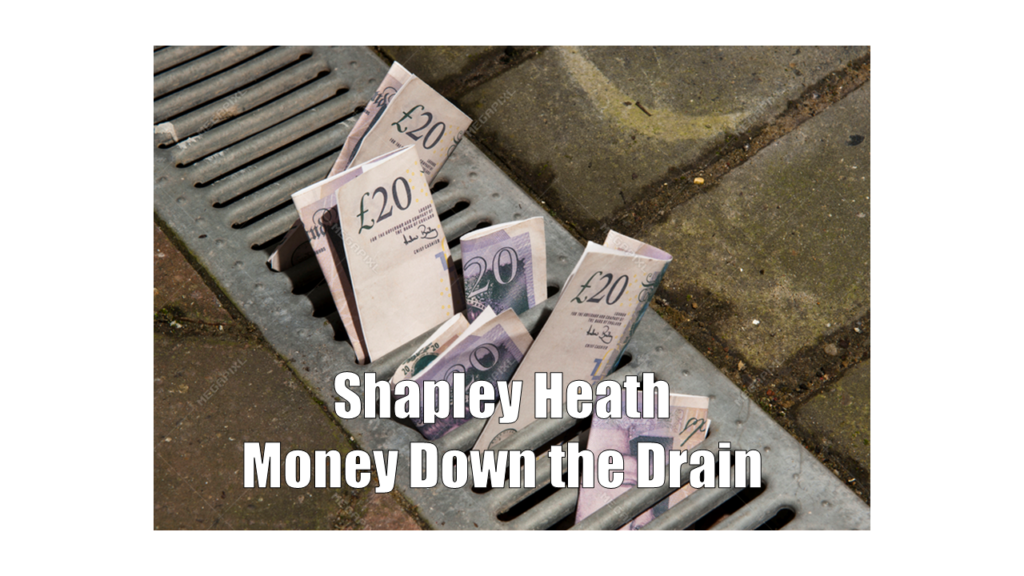 Shapley Heath Grant Money Down the Drain