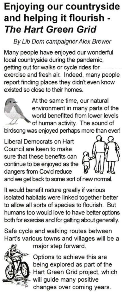 Lib Dem Greenwashing Themselves as they push Shapley Heath