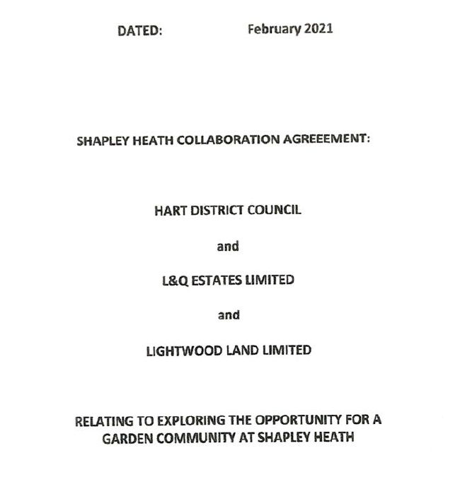 Shapley Heath Collaboration Agreement
