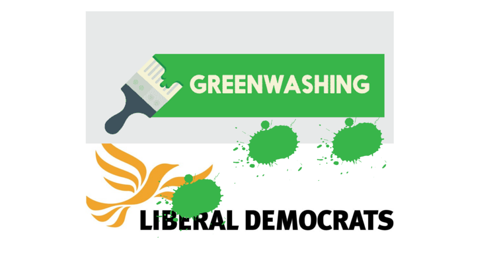Lib Dems Greenwashing Themselves as they push Shapley Heath