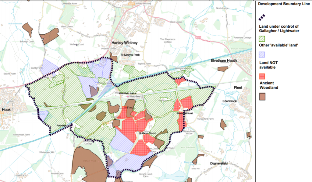 Shapley Heath #Mapgate - Central Land Not Available