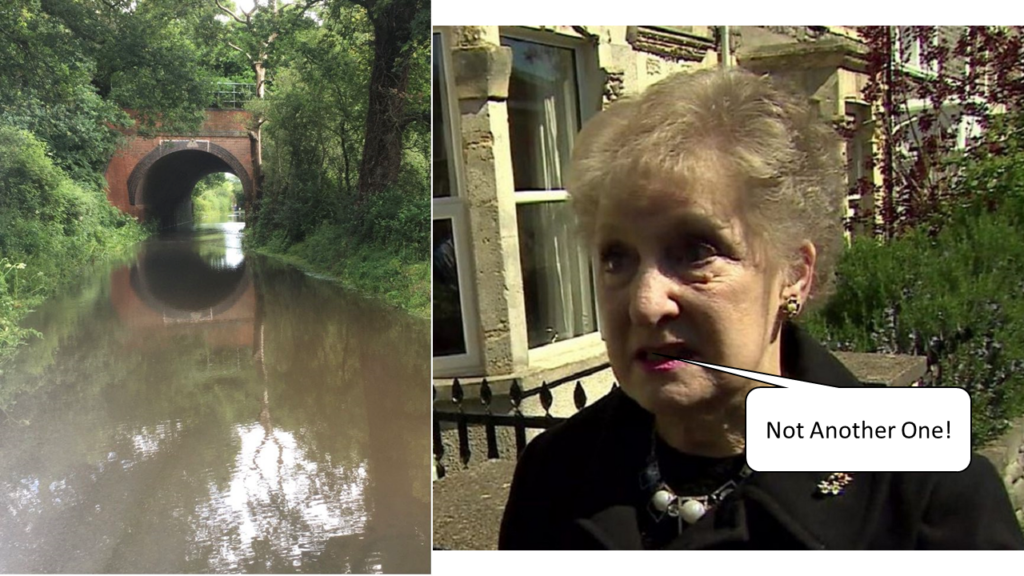 Not another one - Winchfield Floods Again 6 July 2021